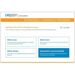 Emsisoft Anti-malware Home / 1 Year / 1 PC Digital Licence -  Official