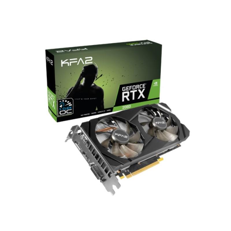 KFA2 GeForce RTX 2060 (1-Click OC) 6 GB -  Official distributor b2b Armenius