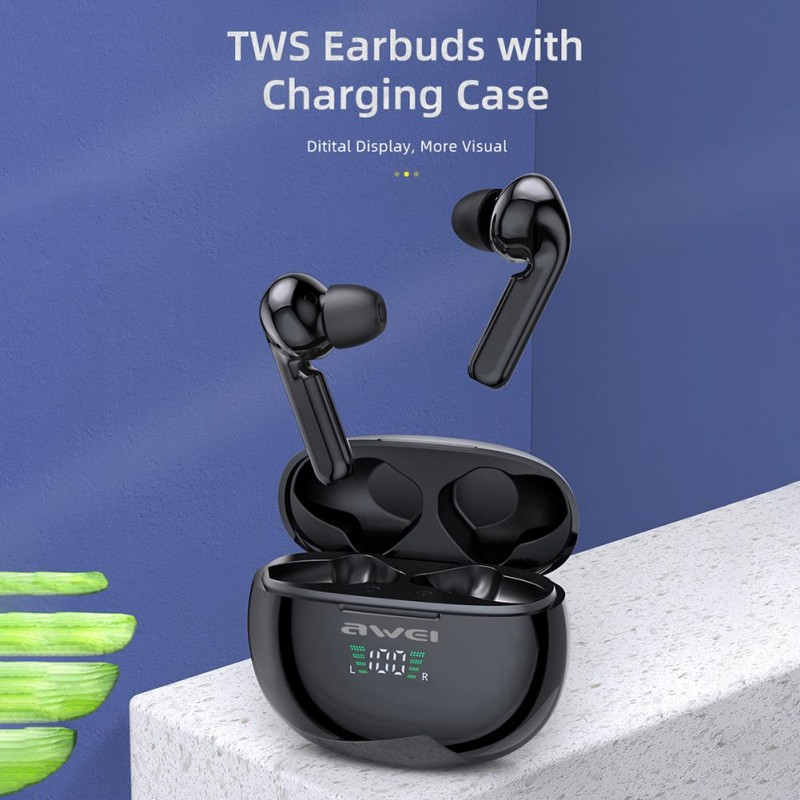 Bluetooth TWS Earbuds Awei T15P -  Official distributor b2b Armenius Store
