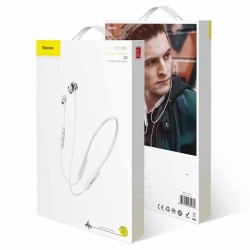 Baseus Encok S12 Bluetooth Earphones white -  Official distributor b2b Armenius