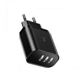 Baseus 3 USB port Smartphone Travel Charger / CCALL-BH01 -  Official