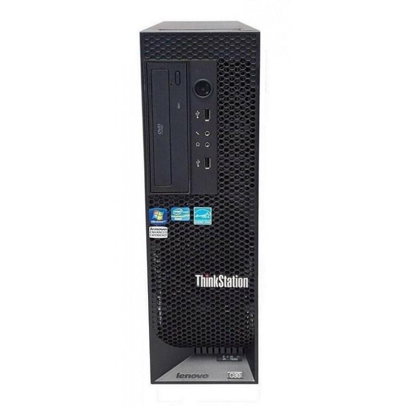 Workstation Lenovo C30 / 2 x Intel Xeon E5-2609 / 16 GB / HDD 500 GB / Quadro