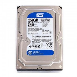 HDD 250 GB Western Digital Blue / 3.5 Inch SATA / WD2500AAKX -  Official